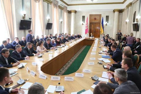У Харківській області відбулося засідання Ради регіонального розвитку