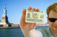 Украина вошла в тройку лидеров по количеству заявок на Green Card