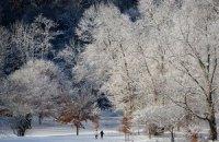 В понедельник в Киеве обещают небольшой мокрый снег с дождем