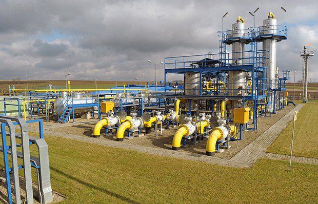 Установка по обезвоживанию природного газа в Польше