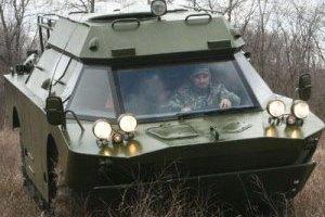 МВД направило 6 БРДМ для усиления границ Харьковской области