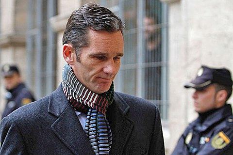 Зятю короля Іспанії приписали самому вибрати в'язницю для відбування покарання