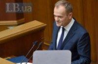 Туск порадив українцям не пересваритися через вибори