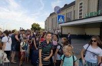 У Києві через повідомлення про замінування евакуювали Центральний залізничний вокзал