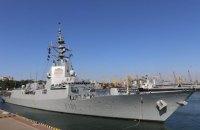 Эскадра НАТО из пяти кораблей зашла в Одессу