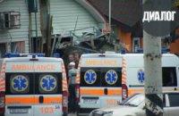 У Луганську БМП з бойовиками в'їхала в кафе