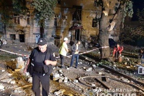 Поліція: ймовірна причина вибуху в центрі Києва - витік газу