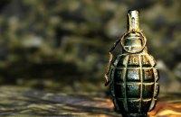 У Сирецькому парку Києва виявили розтяжку з небойовою гранатою
