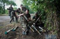 На Донбассе получили ранения двое украинских военных