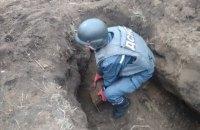 В Харьковской области рядом с жилой застройкой нашли 61 мину времен Второй мировой