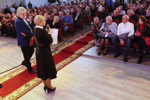 Тимошенко пообіцяла відновити престиж шахтарської праці