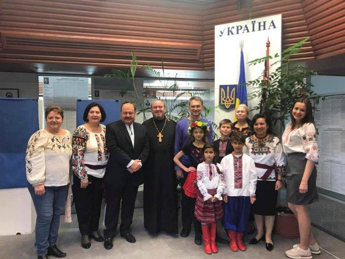 Посол України в Австралії та діаспора