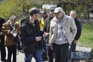 """СБУ провела затримання серед учасників маршу """"білих хустин"""""""
