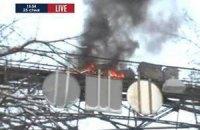 У Києві горить Міст закоханих