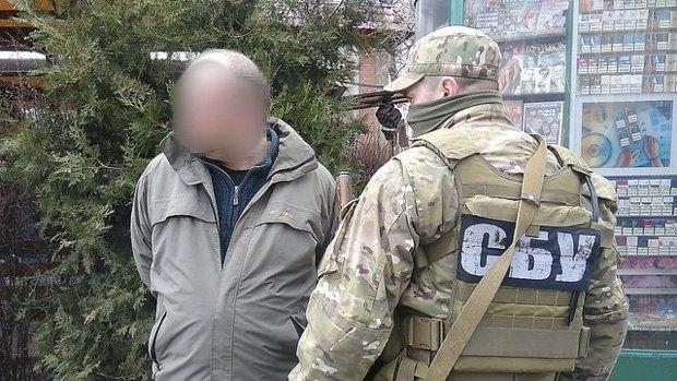 СБУ сказала озадержании «российской агентурной сети»