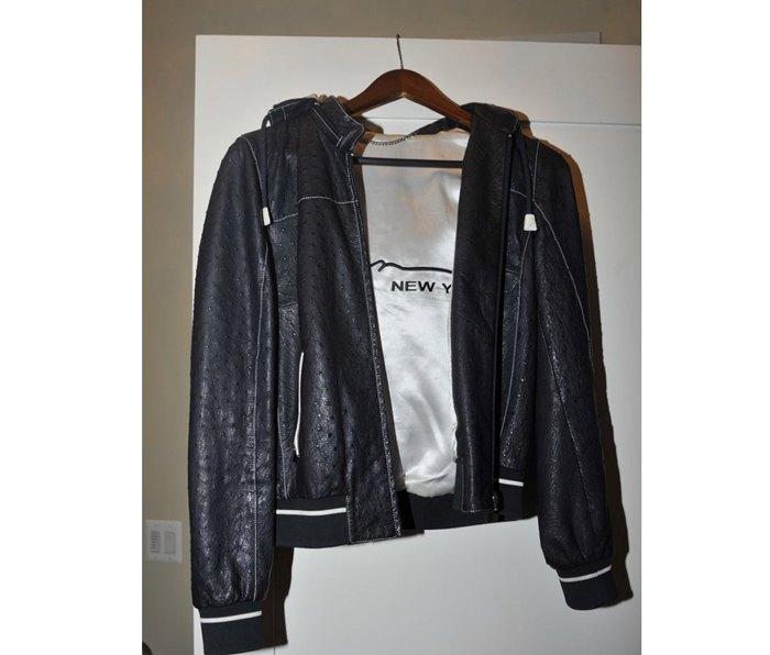 Тот самый пиджак из кожи страуса за $15 тыс. из гардероба Манафорта