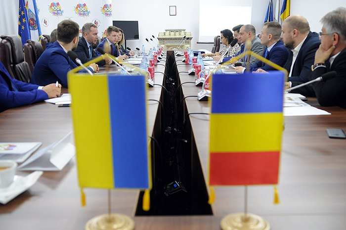 Робоча поїздка делегації Харківської області до Румунії
