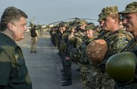 Порошенко призвал военных быть в боевой готовности, несмотря на перемирие