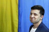 Зеленский проголосовал во втором туре на избирательном участке в Киеве