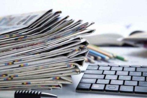 """Закон """"О медиа"""" не поддерживают 85% редакторов газет, - НСЖУ"""
