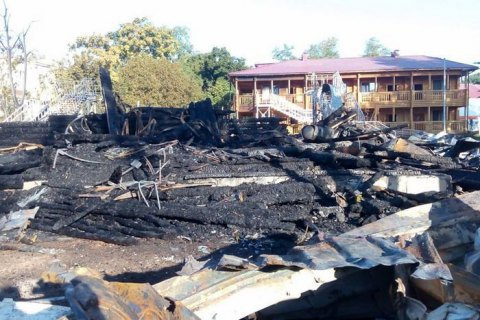 """Поліція відкрила третю кримінальну справу за фактом пожежі в таборі """"Вікторія"""""""