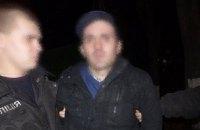 На парковке в Киеве поймали иностранца, обворовавшего автомобиль