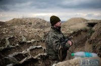 Один военнослужащий получил ранение на Донбассе в четверг