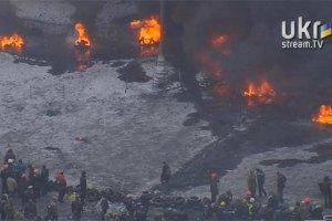 Поблизу вулиці Грушевського загорівся будинок