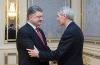 Україна розраховує на підтримку США, - Порошенко