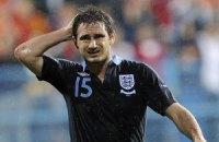 Збірна Англії зазнає втрат