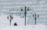 Во всех районах Киева 10-балльные пробки из-за снегопада