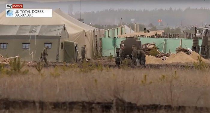 Польовий табір російських військових під Воронежем