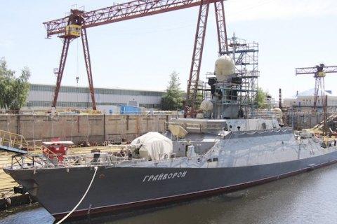Росія проведе у Чорному морі випробування нового корабля з крилатими ракетами