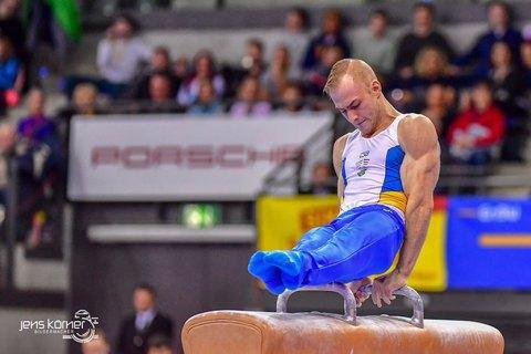 Українець Пахнюк лідирує на Кубку світу зі спортивної гімнастики