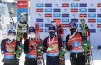 Збірна України з біатлону завоювала три медалі в Кубку світу за сезон, Норвегія - 83