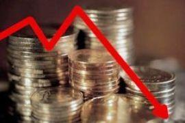 ВВП Украины упал почти на 16%