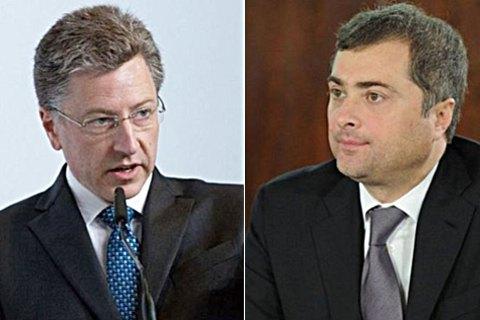"""Волкер назвал """"шагом назад"""" последнюю встречу с Сурковым"""