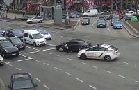 У центрі Києва сталася поліцейська погоня