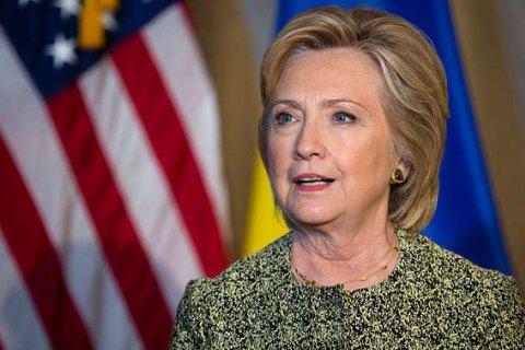 Клінтон звернулася до G7 через дії Росії в Керченській протоці