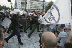 Греческие студенты захватили студию государственного телеканала