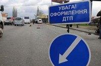 В Украине за сутки произошло 103 ДТП