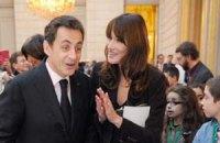 Саркози с супругой покинули Елисейский дворец