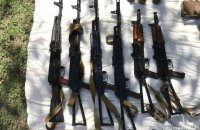 Полиция нашла крупный арсенал оружия в рамках расследования о взрыве в банке Старобельска