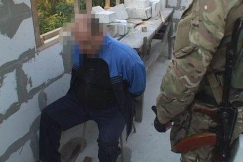 У Дніпропетровську затримали терориста з 11 кг пластиду