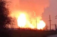 На Полтавщині вибухнув магістральний газопровід (оновлено)