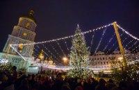 Новогодняя ночь в Украине прошла без происшествий