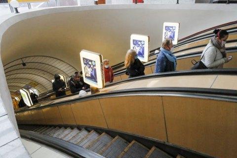 За прошлый год раскрыли только 10% краж в метро Киева