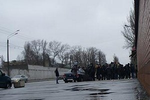 Милиция завела дело за блокирование внутренних войск в Одессе