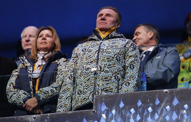 Председатель Национального олимпийского комитета Украины Сергей Бубка