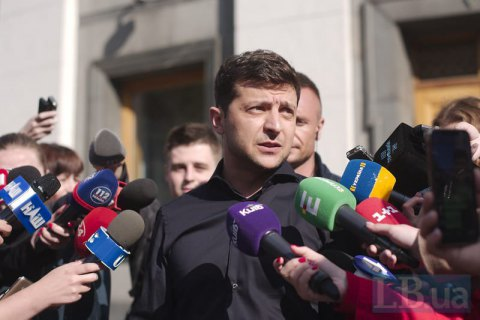 Зеленский задекларировал почти 10 млн гривен доходов в 2018 году